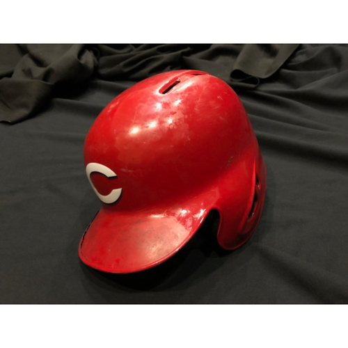 Photo of Eugenio Suarez - Game-Used Helmet - Worn for 2017 Opening Day Game