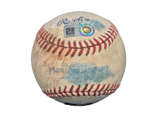 Photo of Game-Used Baseball from Pirates vs. Cardinals on 5/9/14 - Jordy Mercer Single
