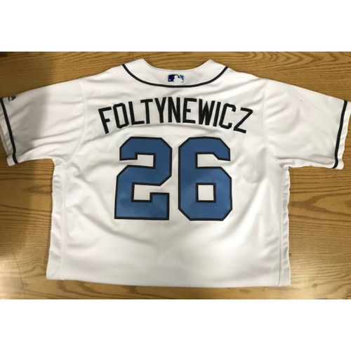 Photo of Mike Foltynewicz Game-Used 2017 Father's Day Jersey