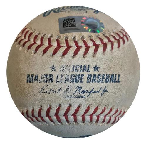 Photo of Game-Used Baseball from Pirates vs. Cubs on 5/29/18 - Kris Bryant Foul