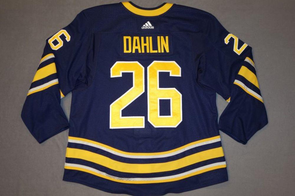outlet store 67b14 249e7 Rasmus Dahlin 2018-19 Buffalo Sabres Set 1 Home Jersey - NHL ...
