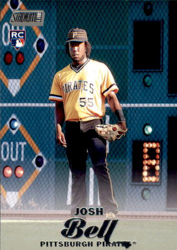 Photo of 2017 Stadium Club #57 Josh Bell Rookie Card