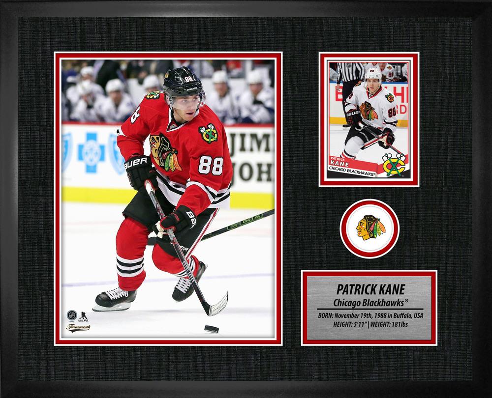 Patrick Kane PhotoCard Frame Blackhawks