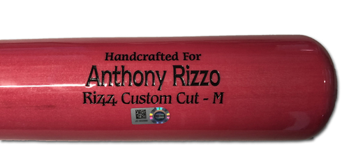 Photo of Anthony Rizzo Team-Issued Bat -- Mother's Day 2019