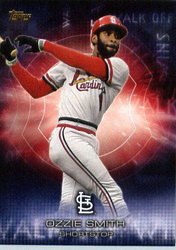 Photo of 2016 Topps Walk Off Wins #WOW13 Ozzie Smith