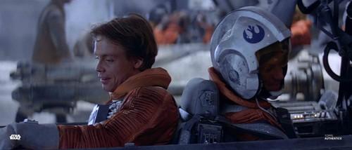 Luke Skywalker and Dak Ralter