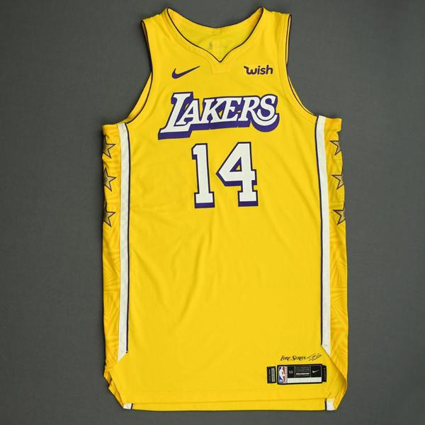 Image of Danny Green - Los Angeles Lakers - Christmas Day' 19 - Game-Worn City Edition Jersey