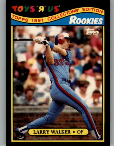 Photo of 1991 Toys'R'Us Rookies #31 Larry Walker