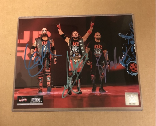 Photo of The O.C. SIGNED WrestleMania 36 Exclusive Photo (Random Number)