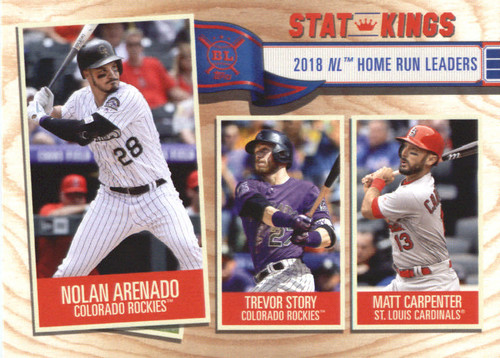 Photo of 2019 Topps Big League #344 Nolan Arenado/Matt Carpenter/Trevor Story
