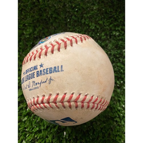 Photo of Robinson Cano Game Used Home Run Baseball - July 31, 2020