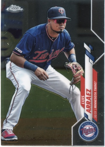 Photo of 2020 Topps Chrome #172 Luis Arraez