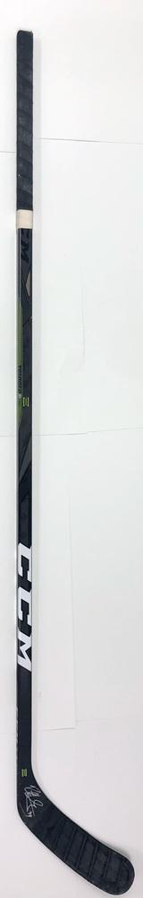 #49 Rhett Gardner Game Used Stick - Autographed - Dallas Stars