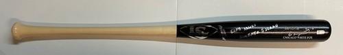 Photo of Eloy Arturo Jimenez Solano Autographed Louisville Slugger Game Model Bat - Full Name