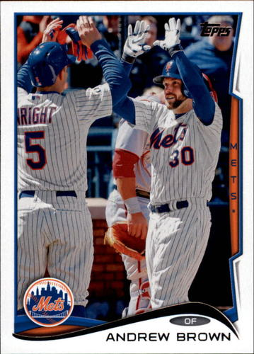 Photo of 2014 Topps Update #US16 Andrew Brown