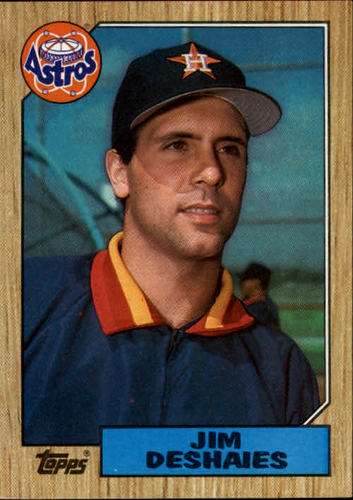 Photo of 1987 Topps #167 Jim Deshaies RC *