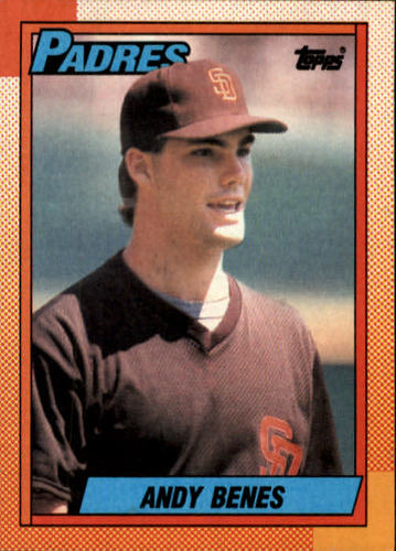 Photo of 1990 Topps #193 Andy Benes