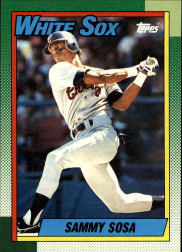 Photo of 1990 Topps #692 Sammy Sosa RC