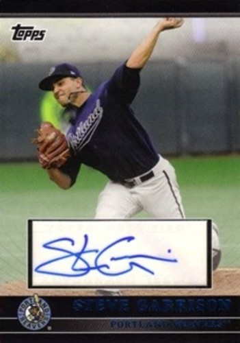 Photo of 2010 Topps Pro Debut Prospect Autographs Blue #SG Steve Garrison S2