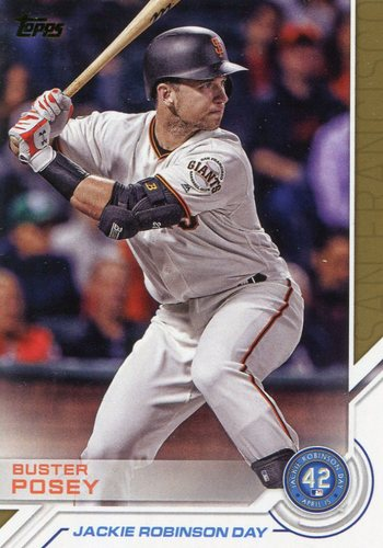 Photo of 2017 Topps Jackie Robinson Day #JRD25 Buster Posey