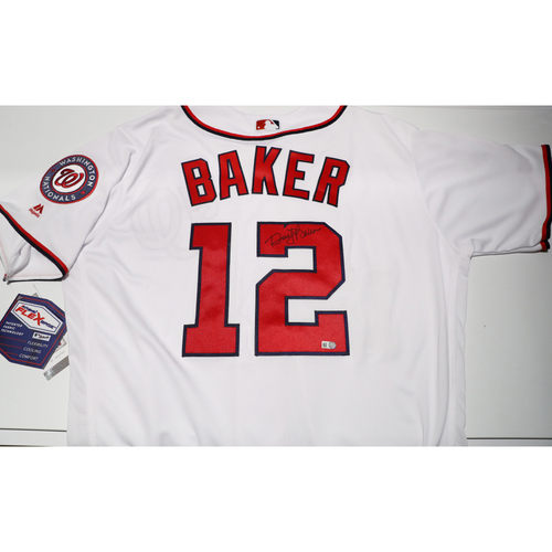Compton Youth Academy Auction: Dusty Baker Signed Jersey