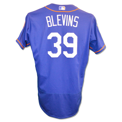 Photo of Jerry Blevins #39 - Team Issued Spring Training Jersey - 2018 Spring Training