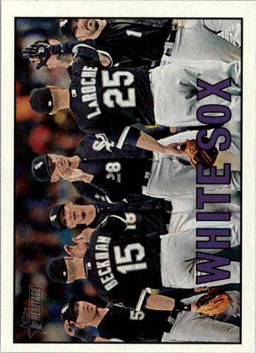 Photo of 2016 Topps Heritage #346 Chicago White Sox
