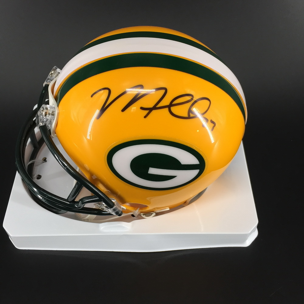 PCF - Packers Micah Hyde Signed Packers Mini Helmet