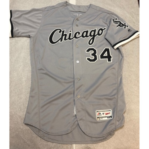 Photo of Michael Kopech Team Issued 2018 Grey Road Jersey