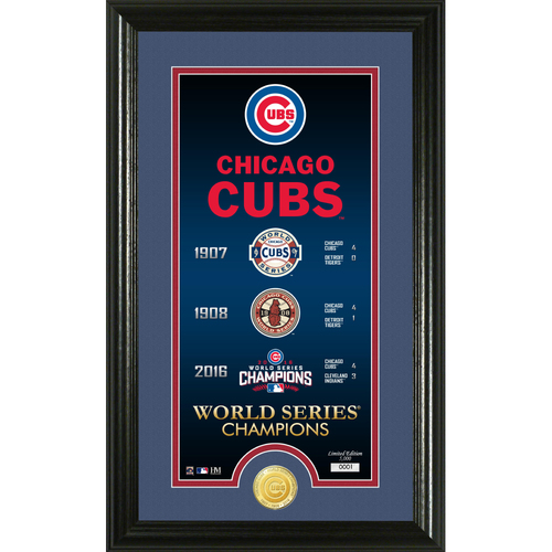 "Photo of Chicago Cubs ""Legacy"" Bronze Coin Photo Mint"