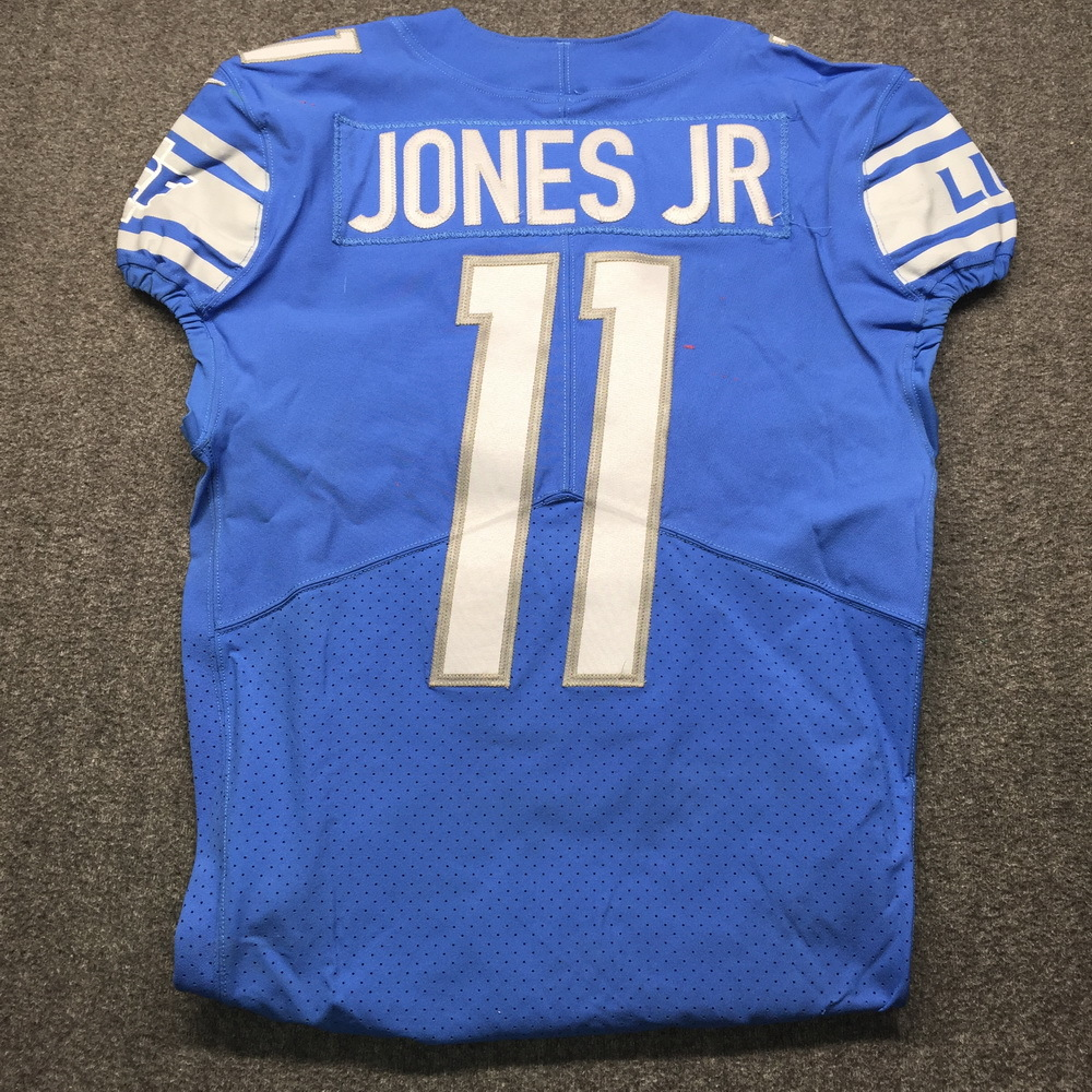 NFL Auction | Crucial Catch - Lions Marvin Jones Game Worn Jersey ...
