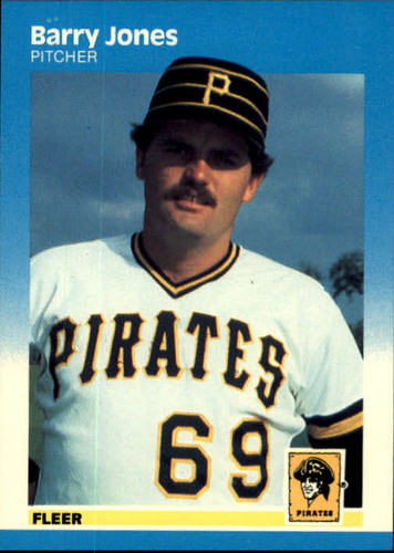 Photo of 1987 Fleer #611 Barry Jones