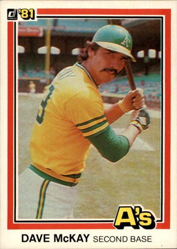 Photo of 1981 Donruss #350 Dave McKay