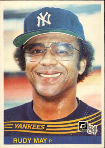 Photo of 1984 Donruss #626 Rudy May