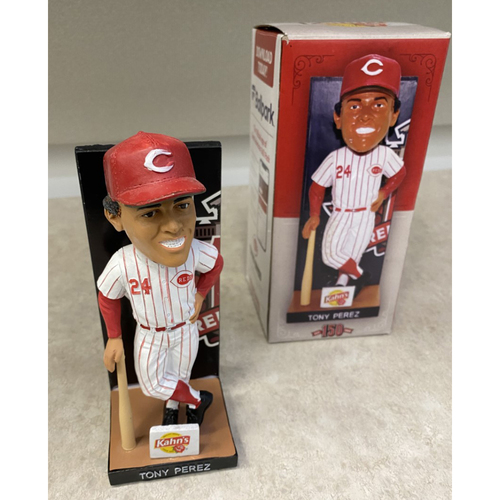 Photo of 150 Hall of Fame Series - Tony Perez Autographed Bobblehead