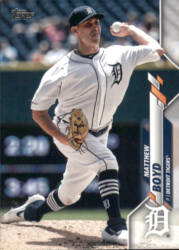 Photo of 2020 Topps #165 Matthew Boyd