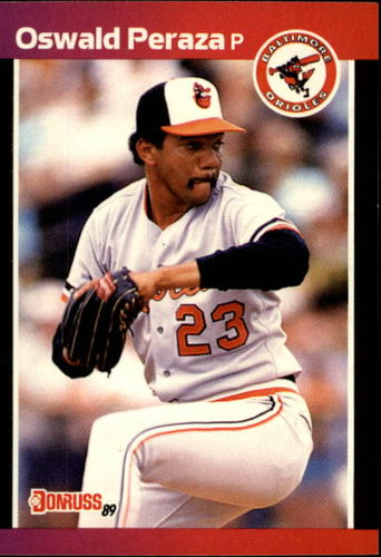 Photo of 1989 Donruss #524 Oswald Peraza DP RC