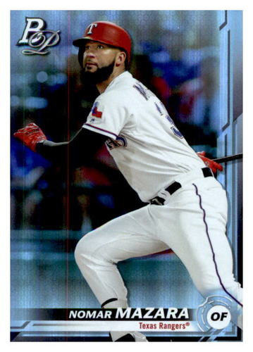 Photo of 2019 Bowman Platinum #70 Nomar Mazara