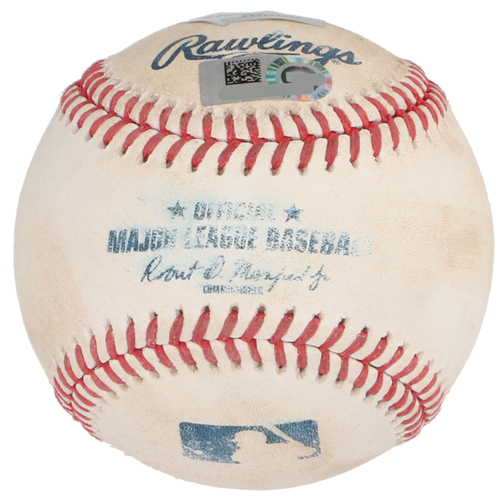 Aaron Judge New York Yankees Game-Used Baseball vs. Boston Red Sox on August 1, 2020 - Foul