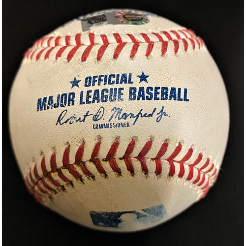 Photo of Game-Used Baseball:  Miguel Cabrera Career Hit #2,817  (MLB AUTHENTICATED)
