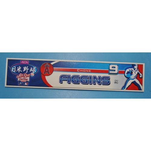Photo of Game-Used Locker Tag - 2006 Japan All-Star Series - Angels Locker Tag - Chone Figgins