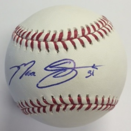 Photo of Max Scherzer Autographed Baseball
