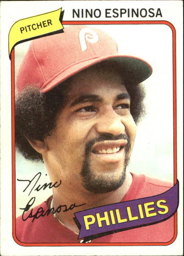 Photo of 1980 Topps #447 Nino Espinosa