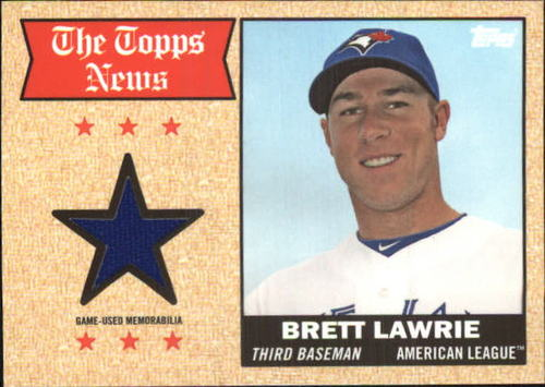 Photo of 2014 Topps Archives Relics #68TRBL Brett Lawrie