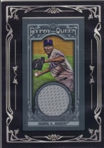 Photo of 2013 Topps Gypsy Queen Framed Mini Relics #AO Alexi Ogando