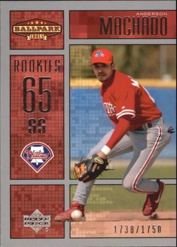 Photo of 2002 Upper Deck Ballpark Idols #233 Anderson Machado ROO RC