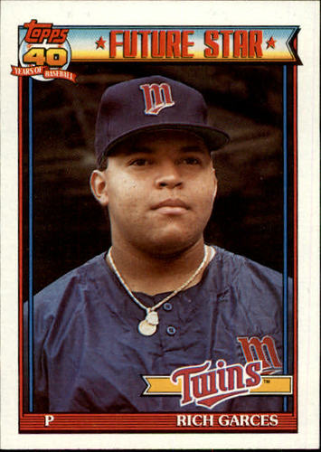 Photo of 1991 Topps #594 Rich Garces RC