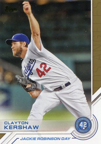 Photo of 2017 Topps Jackie Robinson Day #JRD26 Clayton Kershaw