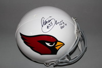 HOF - CARDINALS AENEAS WILLIAMS SIGNED CARDINALS PROLINE HELMET