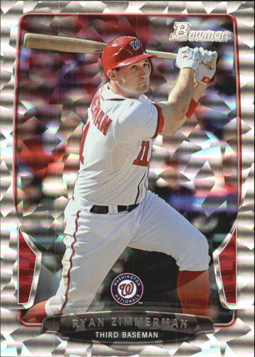 Photo of 2013 Bowman Silver Ice #60 Ryan Zimmerman